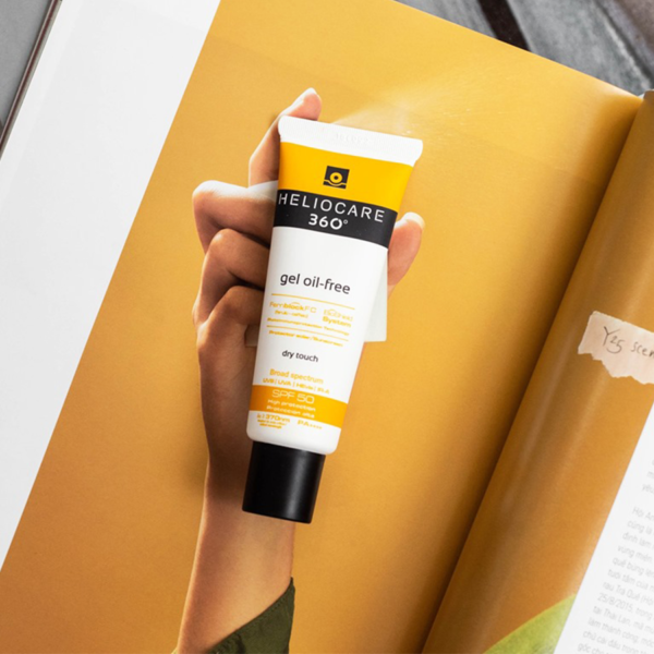 Gel chống nắng Heliocare 360° Gel Oil-free SPF 50