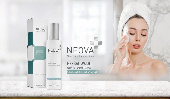 sữa rửa mặt Neova Herbal Wash