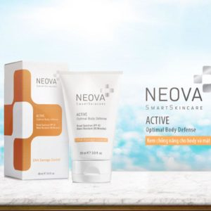 Kem chống nắng Neova Active Broad Spectrum SPF43