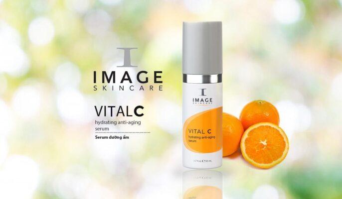 Image Vital C Hydrating Anti Aging Serum dòng serum dưỡng ẩm, giảm kích ứng cung cấp độ ẩm nuôi dưỡng làn da ngăn ngừa lão hóa , phục hồi làn da hư tổn kích ứng