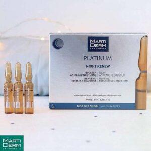 MartiDerm Platinum Night Renew Ampoule